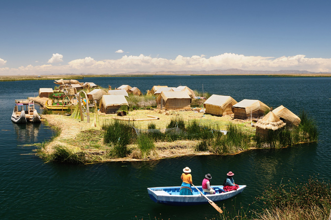 Peru - Floating Uros Islands